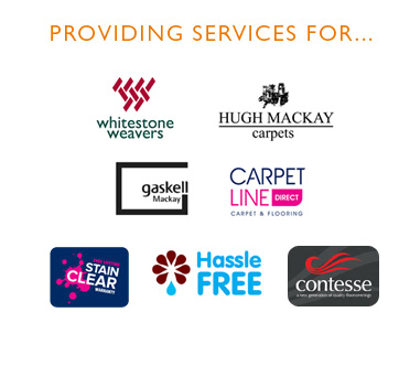 Companies we provide services for...